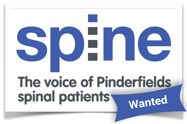 spine wanted logo