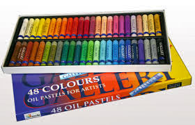 Pastel Crayon Selection in box