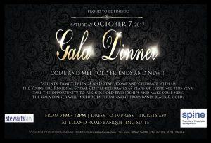 Proud to be Pinders Gala Dinner Ticket