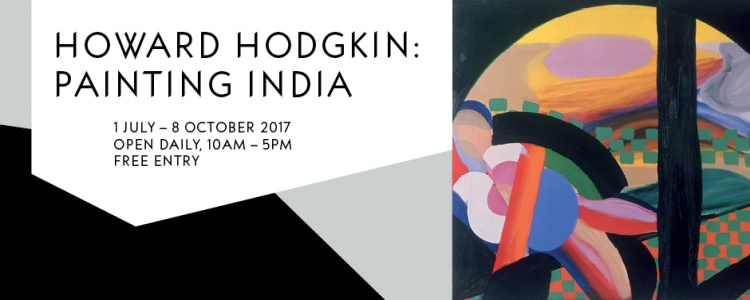 Image advertising the Howard Hodgkin Exhibition